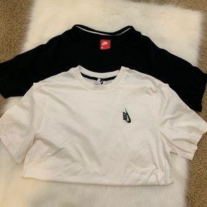 2 Nike Sportswear Shirts